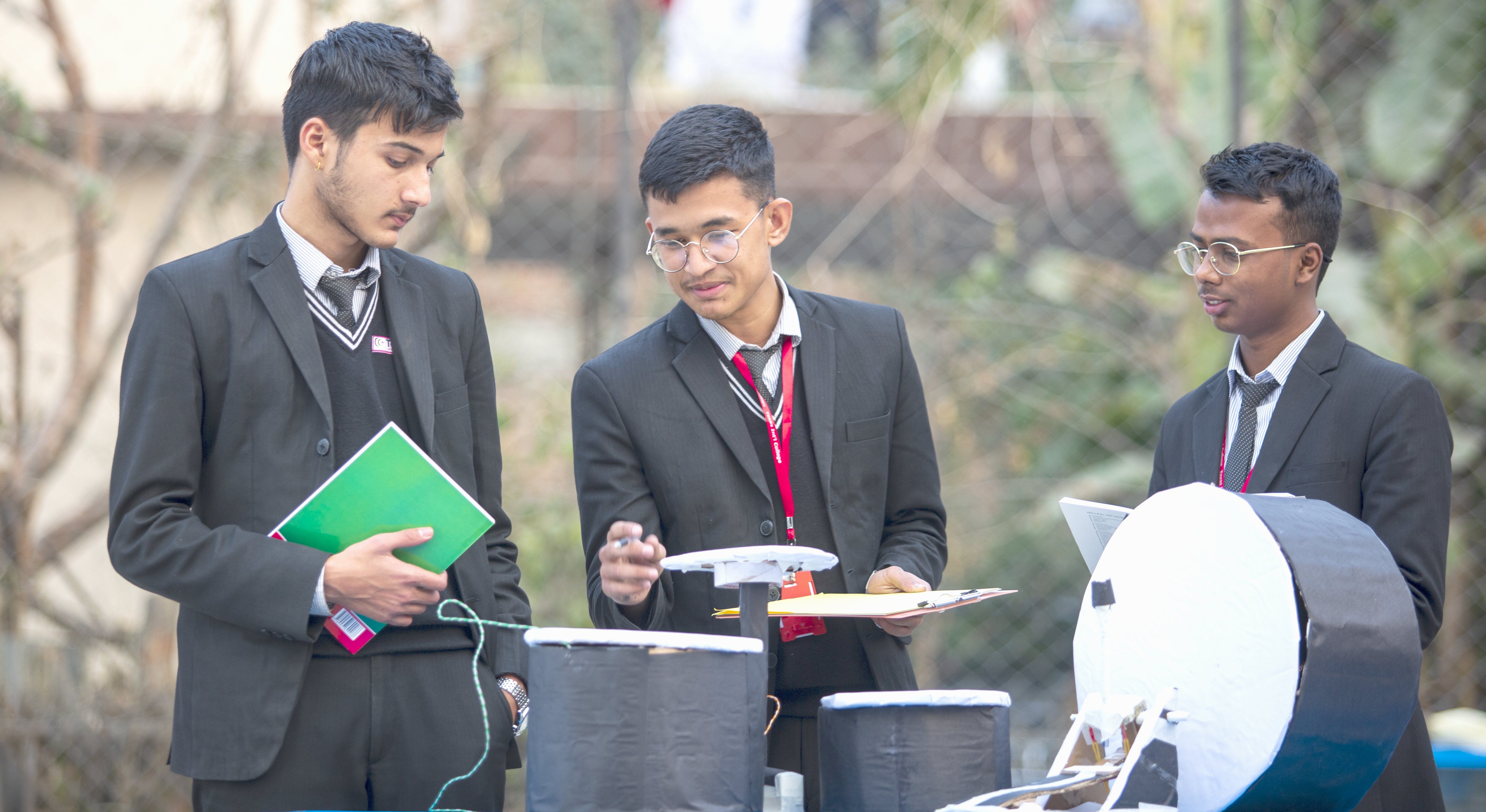 Students in Exhibition
